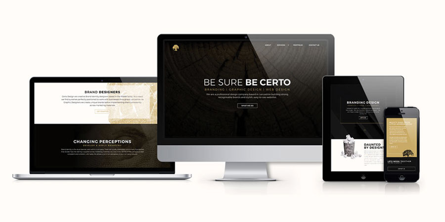 Certo Design Clitheroe Lancashire Website