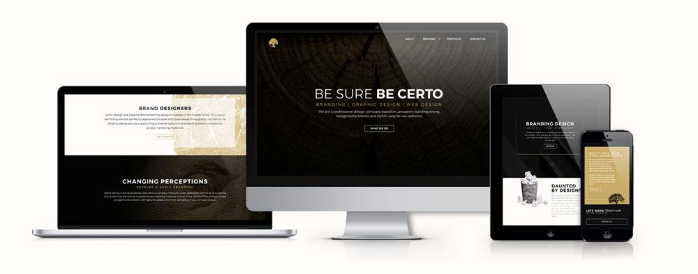 Certo Design New Website