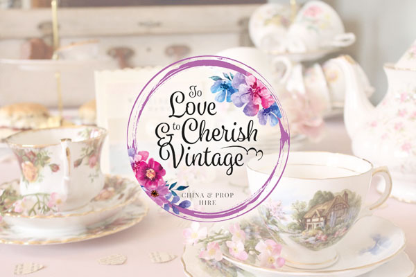 To Love & To Cherish Vintage Website Design & Branding Feature