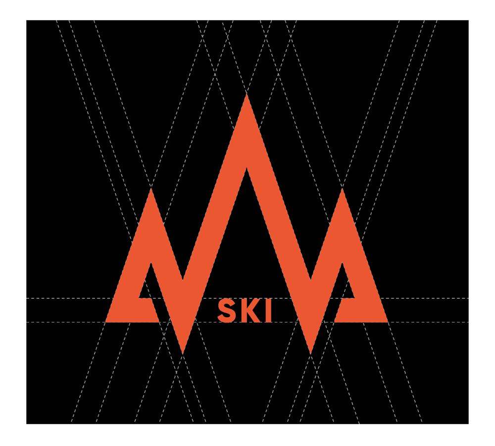 White Powder Logo Icon Design