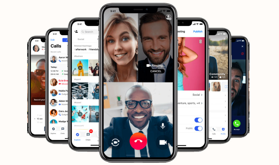 Working Remotely - Video Call Apps