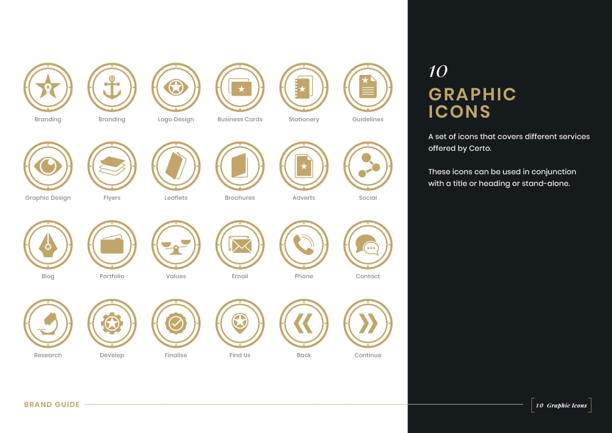 Brand Guidelines - Graphic Icons