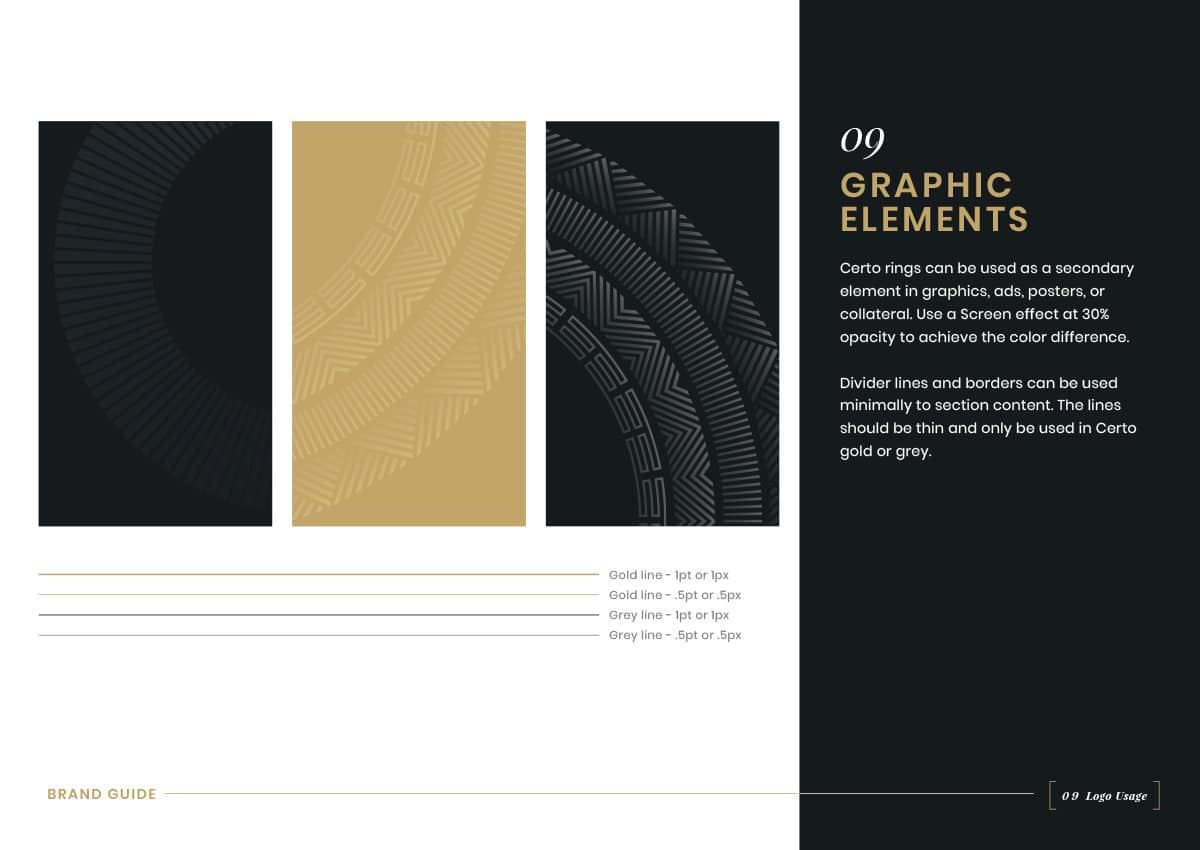 Brand Guidelines - Graphic Elements
