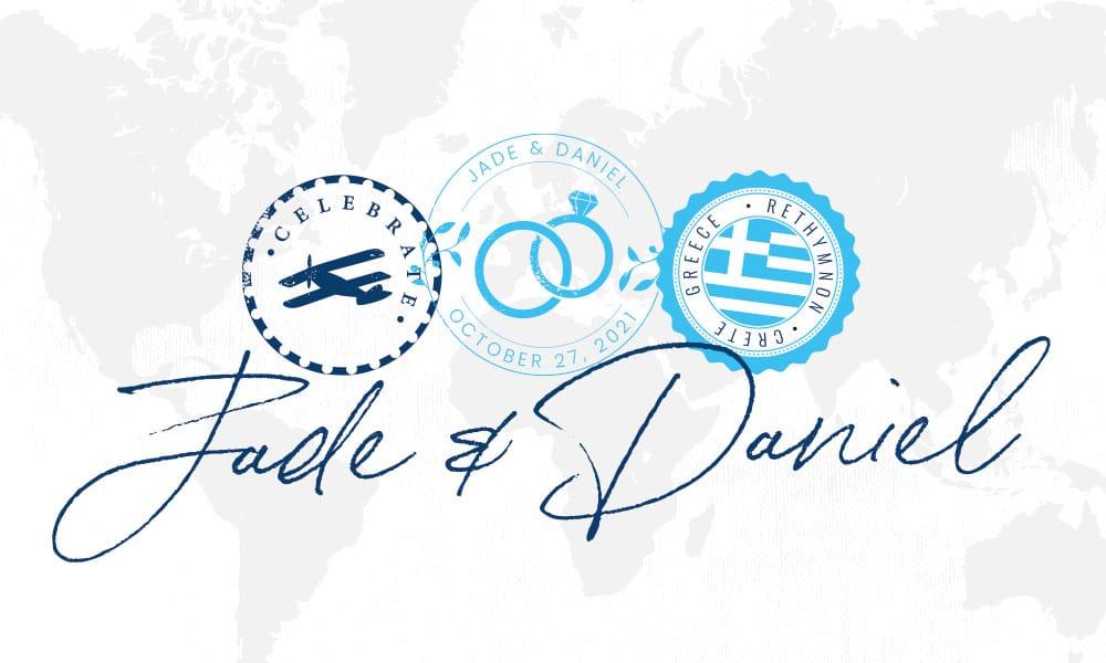Anderson Wedding Branding Elements Design